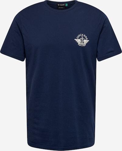 Dockers T-Shirt in dunkelblau / weiß, Produktansicht