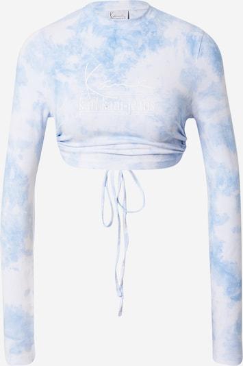 Karl Kani Shirt in hellblau / weiß, Produktansicht