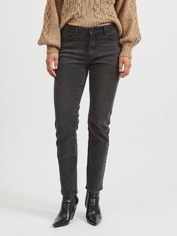 VILA Jeans 'Stray' in Zwart
