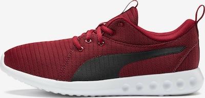 PUMA Chaussure de course en rouge sang / blanc, Vue avec produit