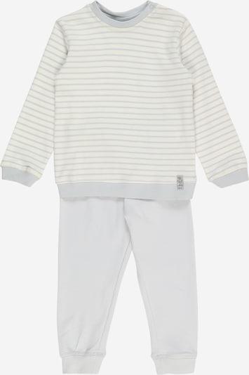 OVS Schlafanzug in grau / weiß, Produktansicht