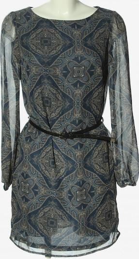 oodji Blusenkleid in XS in blau / türkis / wollweiß, Produktansicht