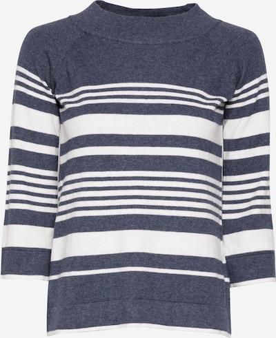 Thought Pullover in dunkelblau / weiß, Produktansicht