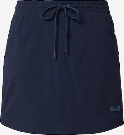 JACK WOLFSKIN Športová sukňa 'Desert' - námornícka modrá, Produkt