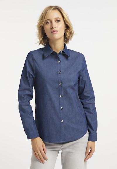 usha BLUE LABEL Hemd in dunkelblau, Modelansicht