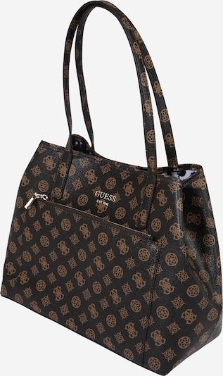 GUESS Shopper torba 'VIKKY' u smeđa / tamno smeđa, Pregled proizvoda