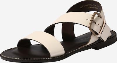 Marc O'Polo Sandales en blanc cassé, Vue avec produit