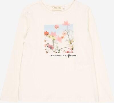 OVS T-Shirt en mélange de couleurs / blanc, Vue avec produit