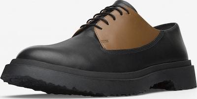 CAMPER Schnürschuh ' Twins ' in braun / schwarz, Produktansicht