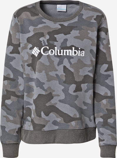 COLUMBIA Sweat-shirt en beige clair / gris / kaki / noir / blanc, Vue avec produit