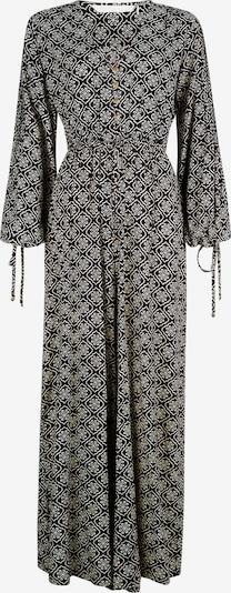 Isla Ibiza Bonita Jumpsuit 'AMOR' in grau / schwarz, Produktansicht