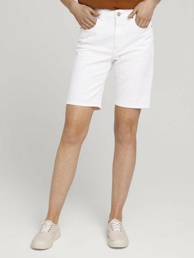 TOM TAILOR Jeans in de kleur Wit, Modelweergave