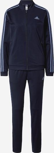 ADIDAS PERFORMANCE Спортен костюм в опушено синьо / нощно синьо, Преглед на продукта
