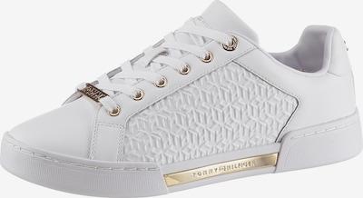 Sneaker bassa TOMMY HILFIGER di colore oro / offwhite, Visualizzazione prodotti