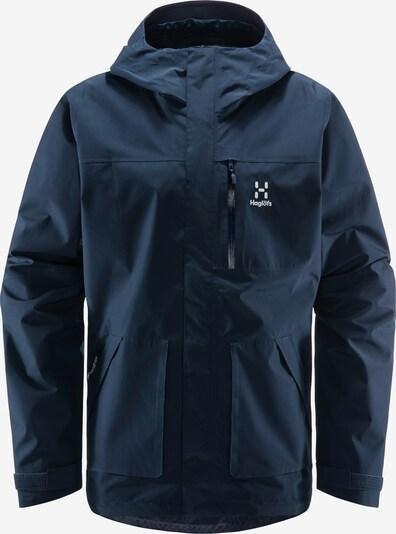 Haglöfs Outdoorjacke 'Vide GTX' in nachtblau / weiß, Produktansicht