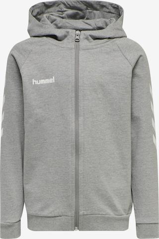 Veste de survêtement Hummel en gris