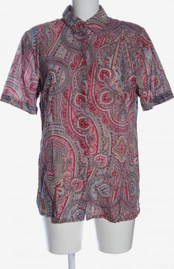 MONA Kurzarmhemd in L in blau / pink / rot, Produktansicht