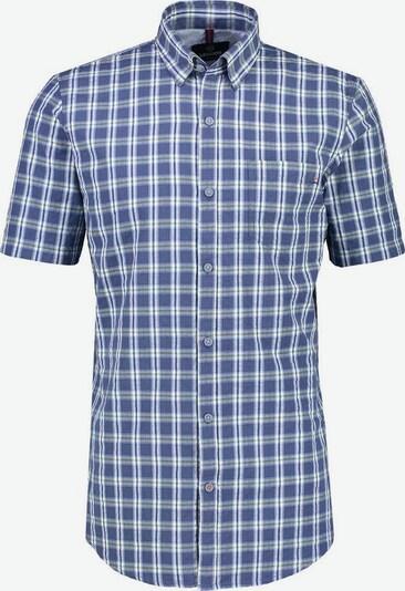LERROS Hemd in dunkelblau / oliv / weiß, Produktansicht
