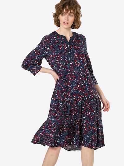 s.Oliver Košulja haljina u mornarsko plava / svijetloplava / crvena, Prikaz modela