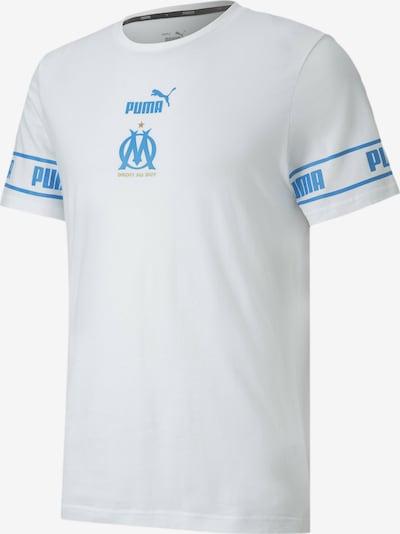 PUMA T-Shirt fonctionnel en blanc: Vue de face