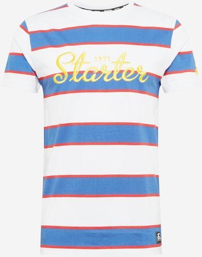 Marškinėliai iš Starter Black Label , spalva - mėlyna / Auksas / raudona / balta, Prekių apžvalga
