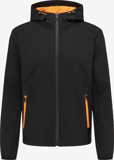 MO Jacke in mandarine / schwarz, Produktansicht