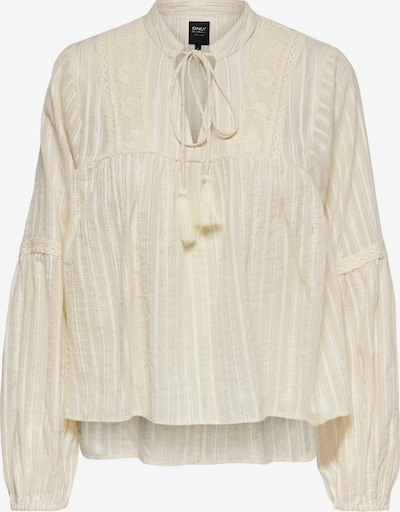 ONLY Bluse 'New Elisa Life' in creme / silber, Produktansicht