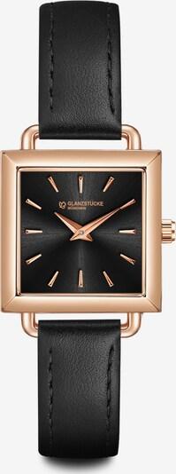 Glanzstücke München Armbanduhr in schwarz, Produktansicht