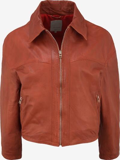 Goosecraft Tussenjas in de kleur Donkeroranje, Productweergave