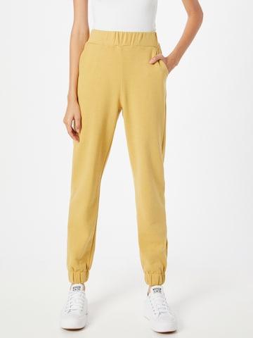 ICHI Püksid, värv kollane
