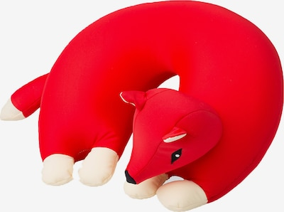 CuddleBug Nackenhörnchen U Kids Travel Fox in rot, Produktansicht