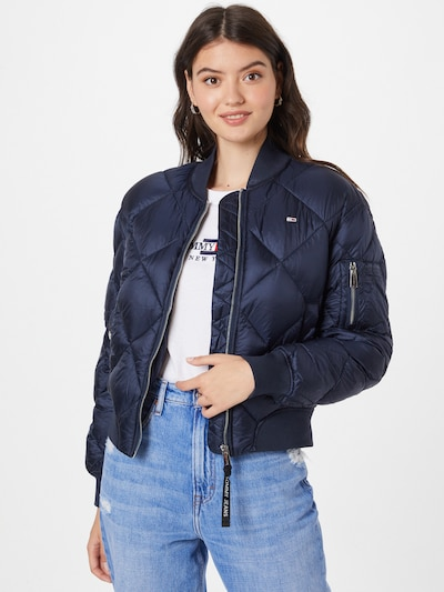 Tommy Jeans Jacke in navy: Frontalansicht