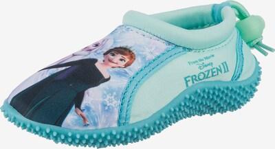 Disney Die Eiskönigin Badeschuh in türkis / mischfarben, Produktansicht