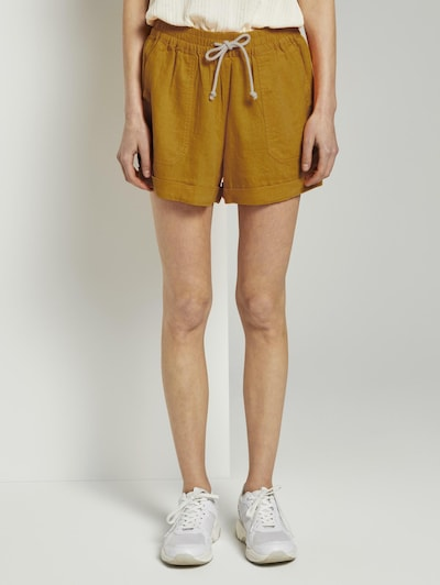 TOM TAILOR DENIM Shorts in orange, Modelansicht