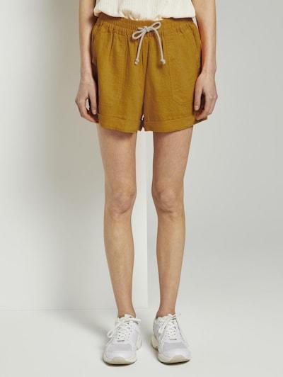 TOM TAILOR DENIM Shorts in senf, Modelansicht