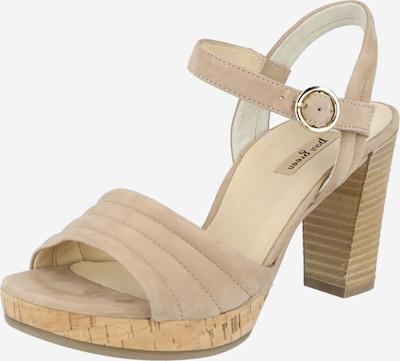 Paul Green Sandalen in beige, Produktansicht