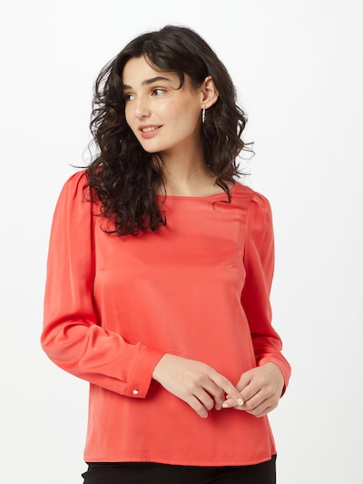 COMMA Bluse in rot, Modelansicht