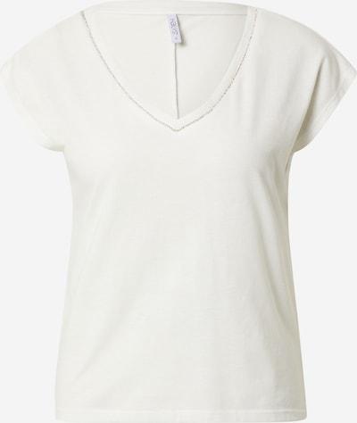 Tricou 'Bianca' Hailys pe alb murdar, Vizualizare produs