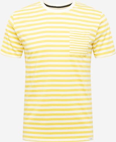 NOWADAYS T-shirt i gul / vit, Produktvy