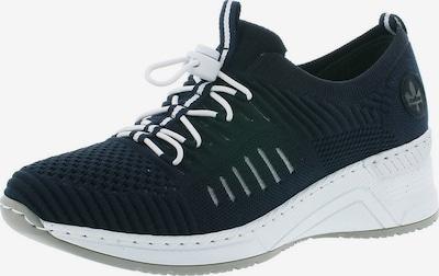 Sneaker low RIEKER pe albastru noapte, Vizualizare produs