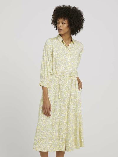 MINE TO FIVE Košilové šaty - žlutá / černá / bílá, Model/ka