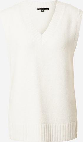COMMA Sveter - biela