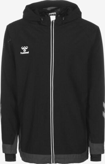 Hummel Functionele jas in de kleur Grijs / Zwart / Wit, Productweergave