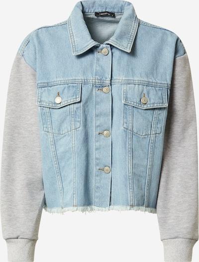 Trendyol Jacke in hellblau / graumeliert, Produktansicht