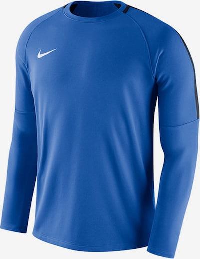 NIKE Sweatshirt in nachtblau / royalblau / weiß, Produktansicht