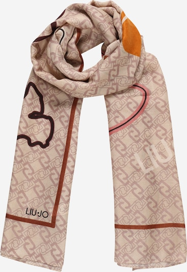Liu Jo Šál - béžová / tmavobéžová / oranžová / staroružová / čierna, Produkt