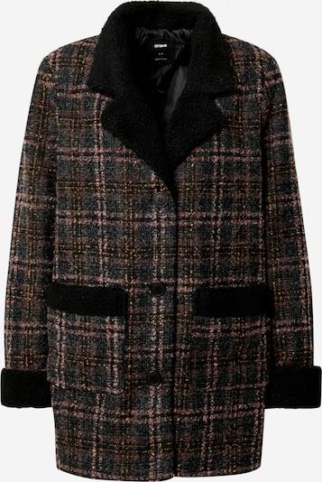 Cotton On Manteau mi-saison en mélange de couleurs / noir, Vue avec produit