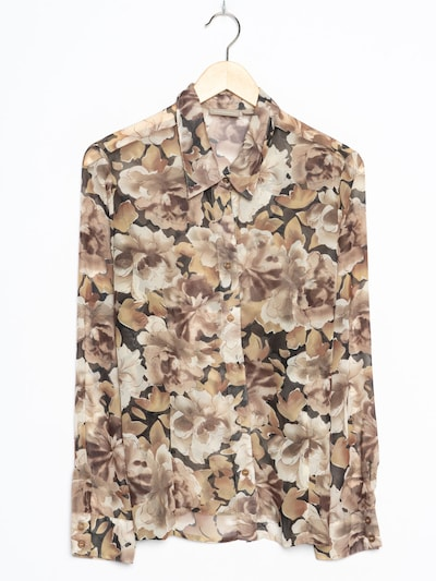 Croft & Barrow Blumenbluse in L in taupe, Produktansicht