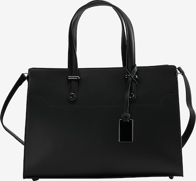 usha BLACK LABEL Handtasche in schwarz, Produktansicht