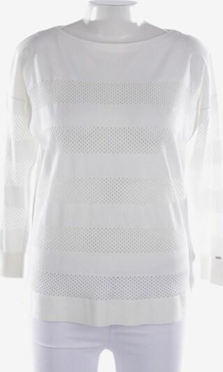 TOMMY HILFIGER Pullover / Strickjacke in L in weiß, Produktansicht